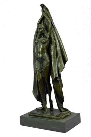 CHIPARUS ART DECO BRONZE SCULPTURE