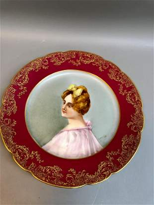 Antique made in France Plate ( Lavereys) A