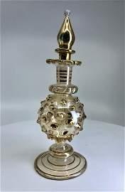 Antique Gold perfume bottle