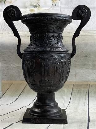 Moreau Apollo Greek Sun of God Urn Sculpture