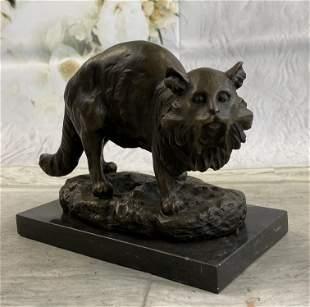 Jonchery Persian Cat Bronze Statue