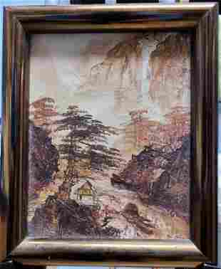 Leung oil on canvas