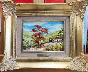 Oswaldo Daron oil on canvas