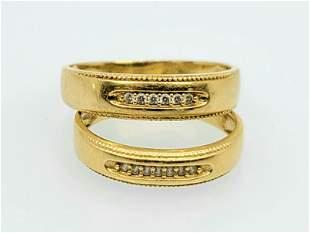 Vintage 14k Engament Ring set