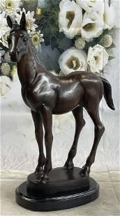 Moigniez Bronze Horse Sculpture