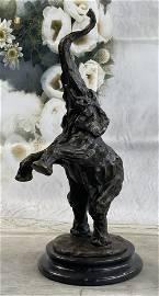 Milo Elephant Bronze Statue