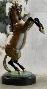 Marius Bronze Horse Sculpture
