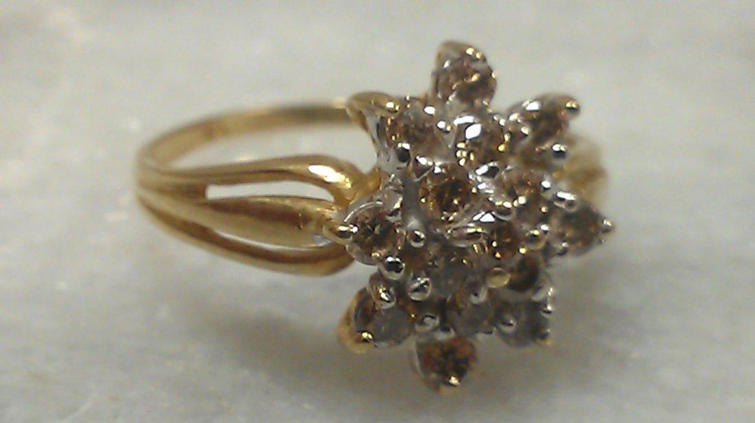 10K YG DIAMOND RING