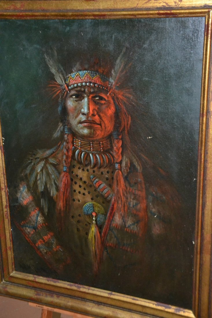 David M Cooper oil on canvas framed painting tittled