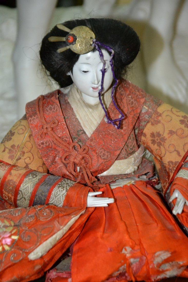 Vintage Set of 2 Japanese Dolls signed by artist