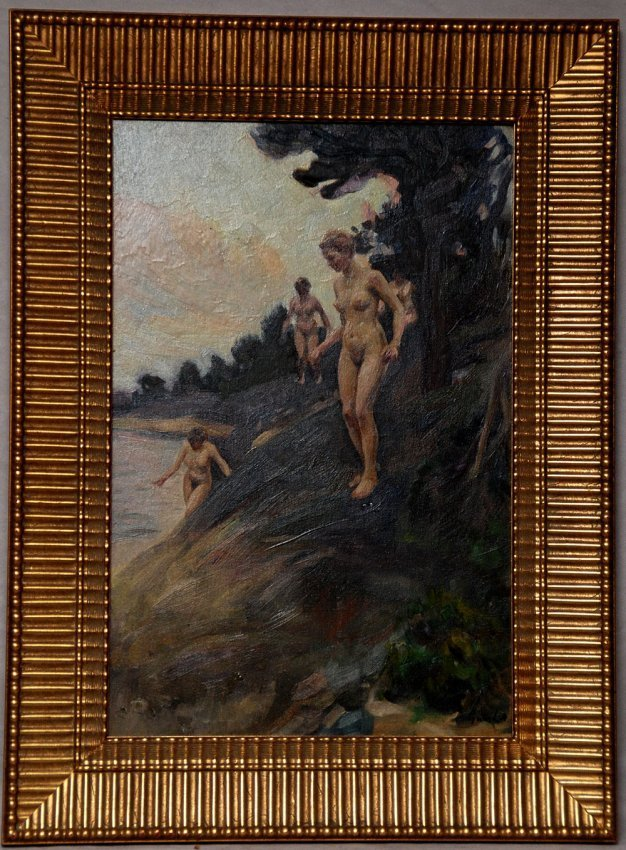Lillian Genth (AMERICAN, 1876-1953) oil on canvas