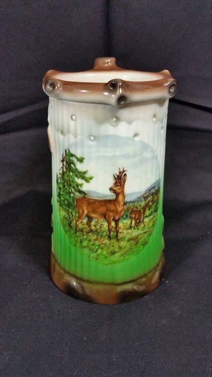vintage lithopane porcelain mug