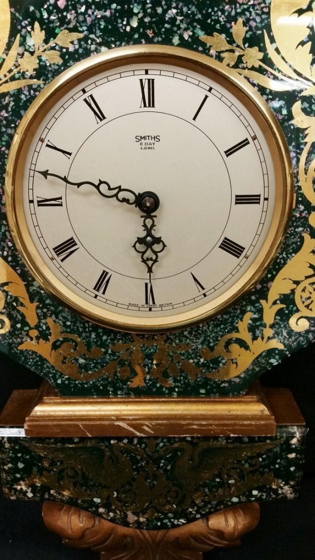 SMITHS 8 DAY 4 JEWEL VINTAGE WALL CLOCK - 2