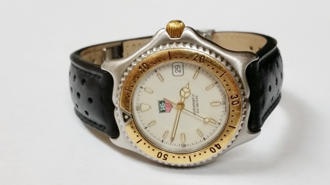 Tag Heuer SEL Automatic Watch - WI2150-K0 - Leather