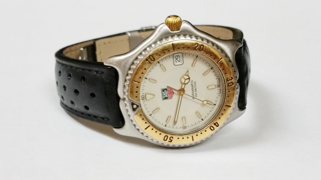 Tag Heuer SEL Automatic Watch - WI2150-K0 - Leather - 2