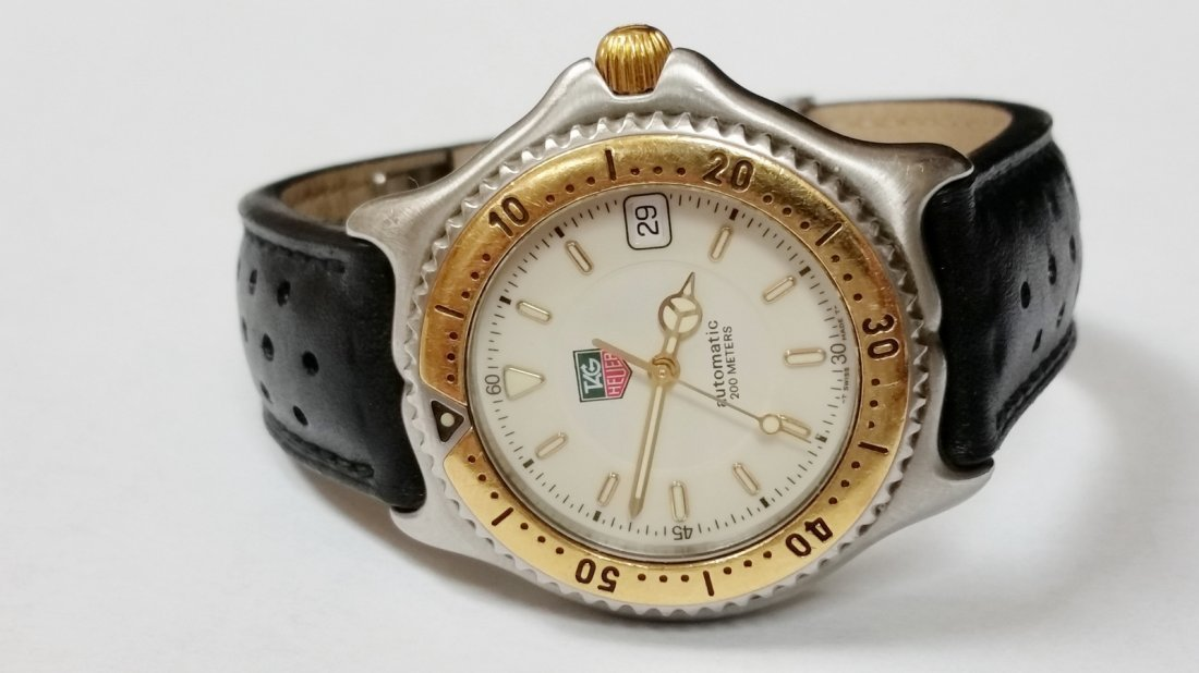Tag Heuer SEL Automatic Watch - WI2150-K0 - Leather - 3