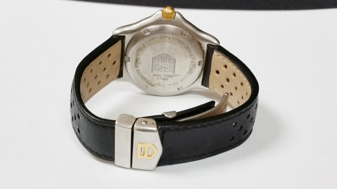 Tag Heuer SEL Automatic Watch - WI2150-K0 - Leather - 4