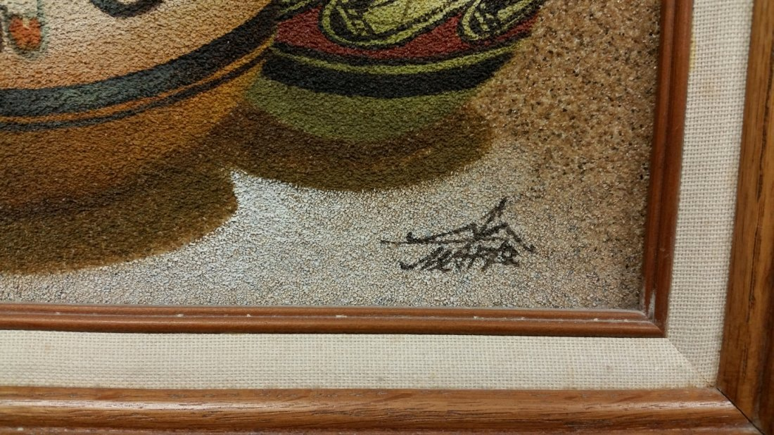 MARIO JUNG SAND PAINTING - 2