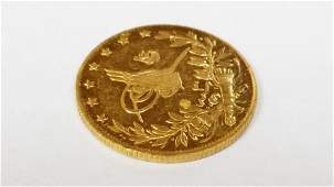 1912 Mehmed V 100 Kurush 22k Turkish Coin