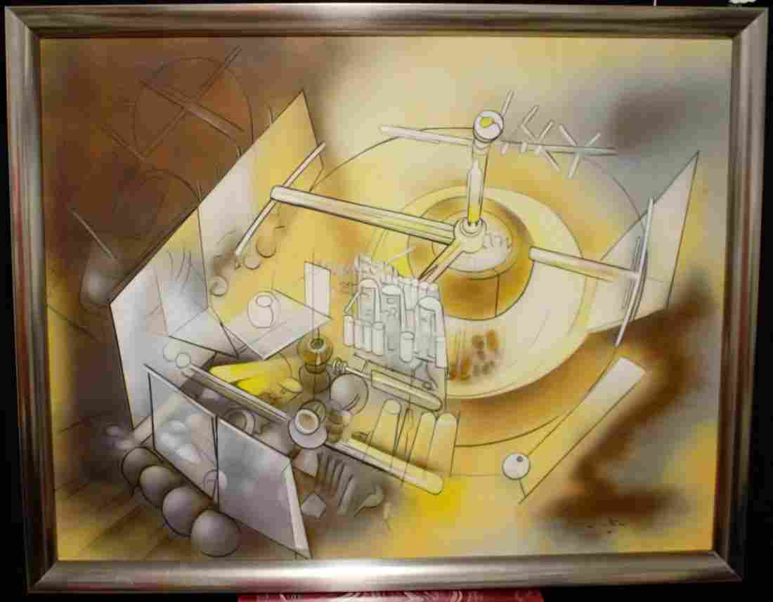Roberto MATTA OIL ON CANVAS