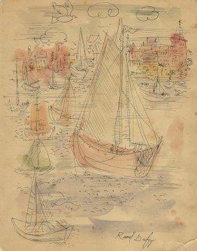 Raoul Dufy (french. 1877-1953) (attrib.)