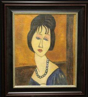 Amedeo Modigliani (attrib) (1884-1920)