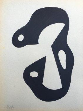Jean Arp Work On Paper