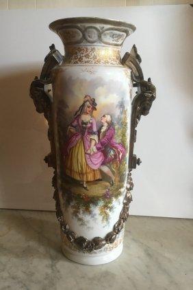 Porcelain Vase With Marks