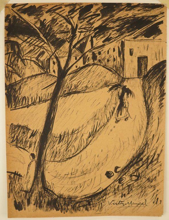 Victor MANUEL (1897-1969) DRAWING
