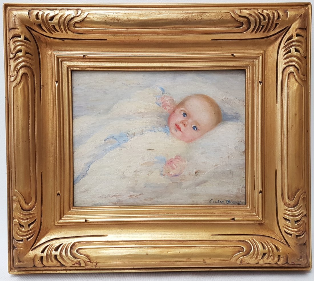 Cecilia BEAUX (1855-1942) OIL PAINTING