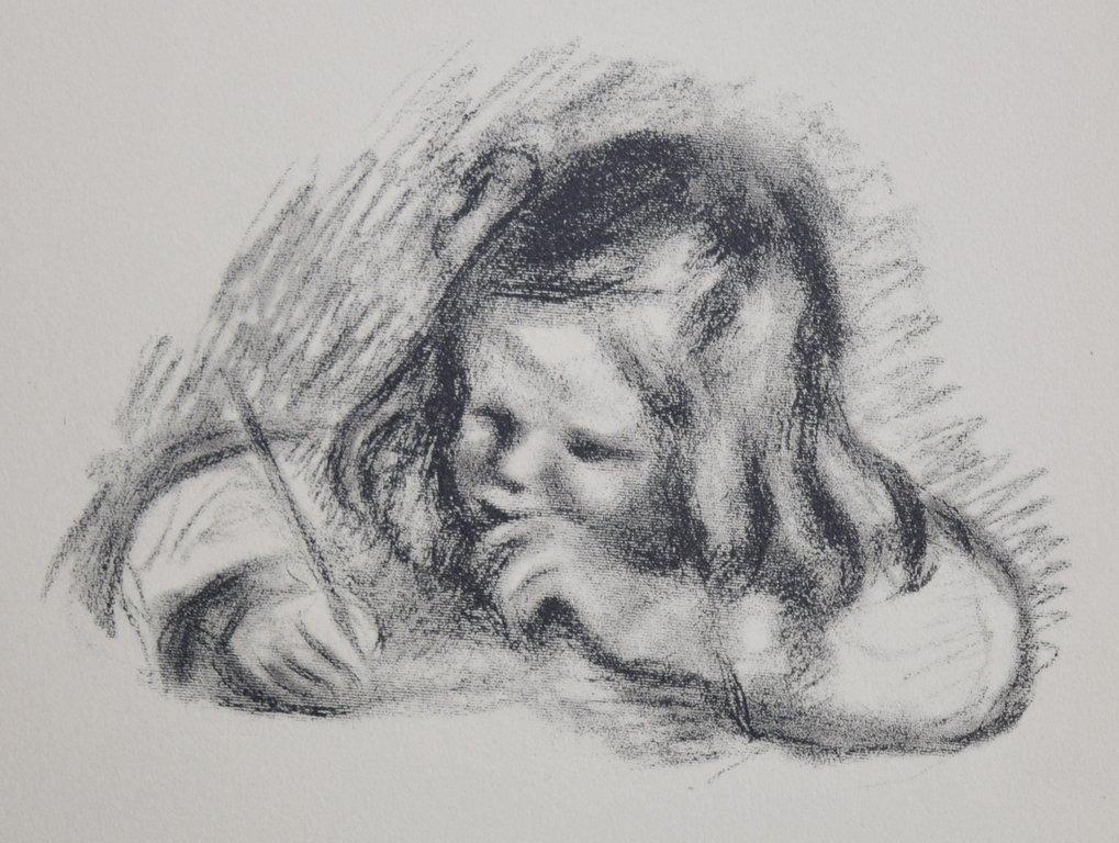 Pierre-Auguste RENOIR (1841-1919) Lithograph