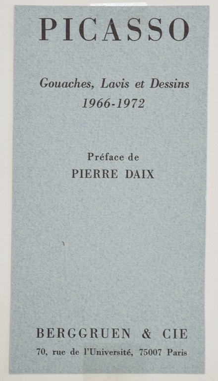 PABLO PICASSO SIGNED COLOR LITHOGRAPH - 2