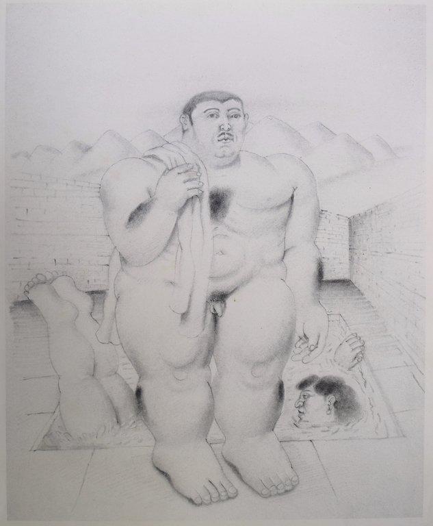 Fernando BOTERO (1932) Lithograph