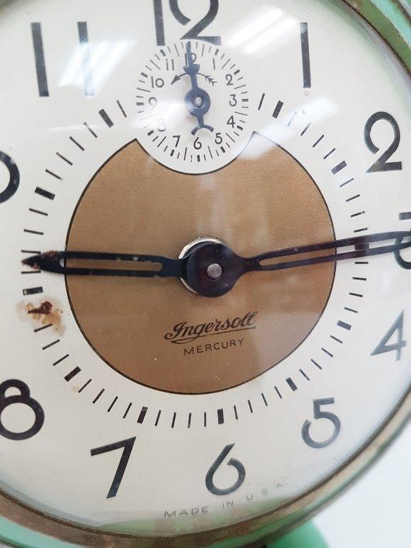 VINTAGE ART DECO ALARM CLOCK - 2