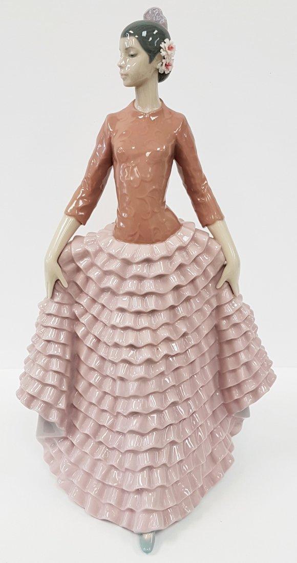 Retired Lladro Figurine Fiesta Dancer # 6163 - 2