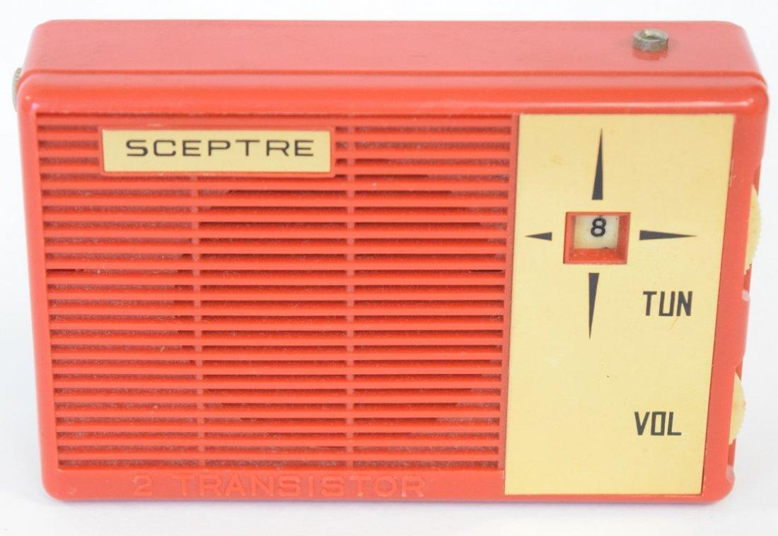 SCEPTRE 2 TRANSISTOR RADIO