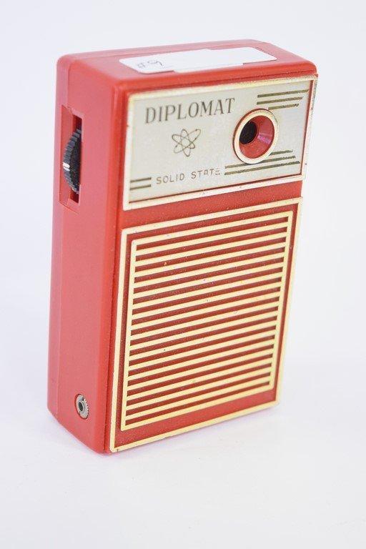 DIPLOMAT SOLID STATE RADIO