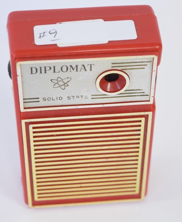 DIPLOMAT SOLID STATE RADIO - 2