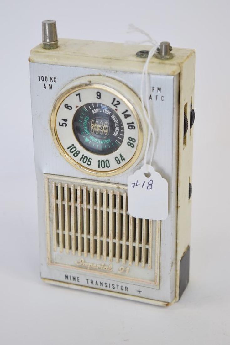 IMPERIAL 91 NINE TRANSISTOR RADIO