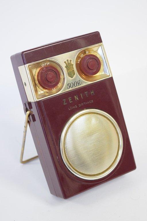 ZENITH 500D RADIO