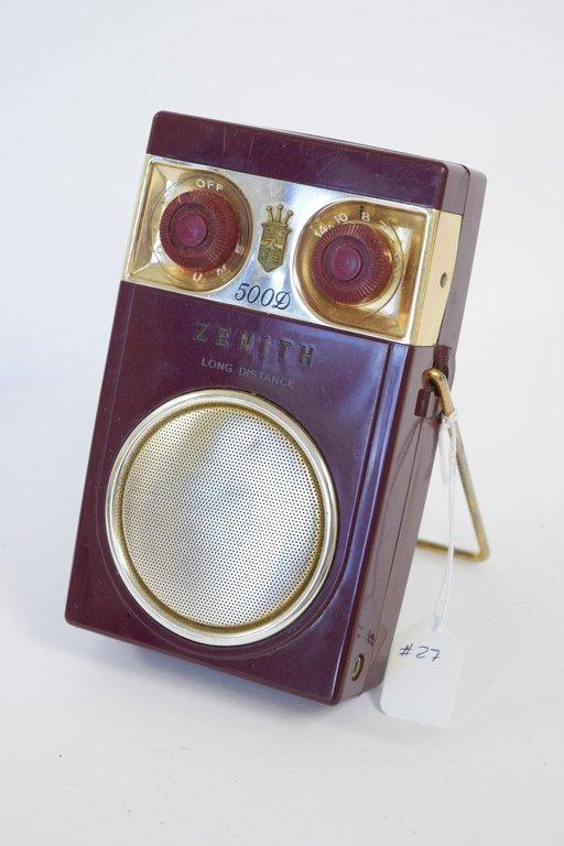 ZENITH 500D RADIO - 2