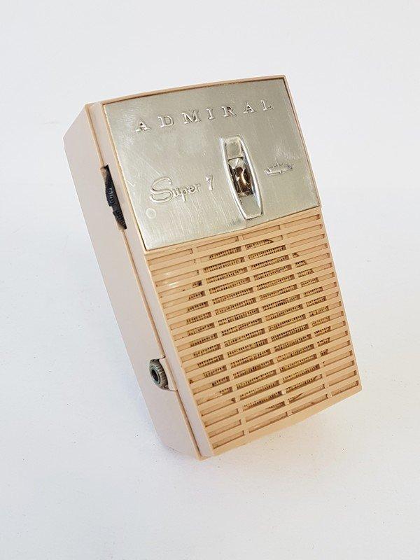 admiral super 7 radio