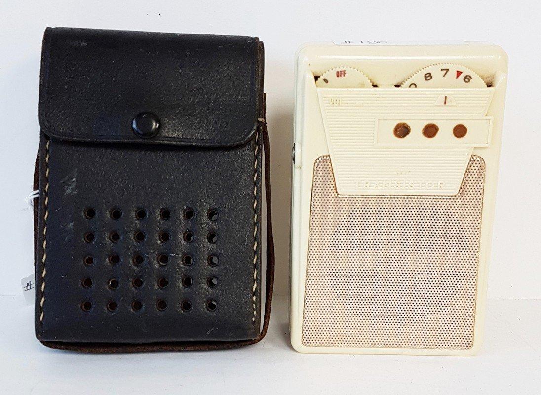 unsigned transistor radio