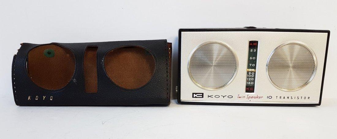 koyo twin speakers 10 transistor radio