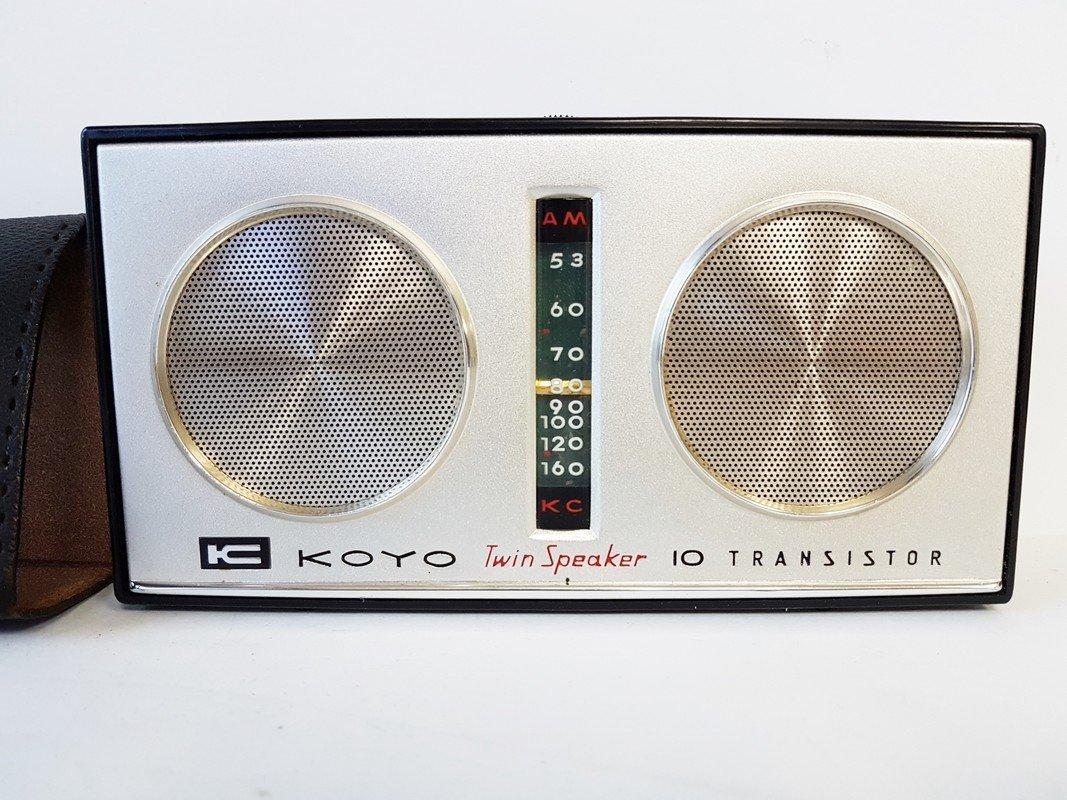 koyo twin speakers 10 transistor radio - 2