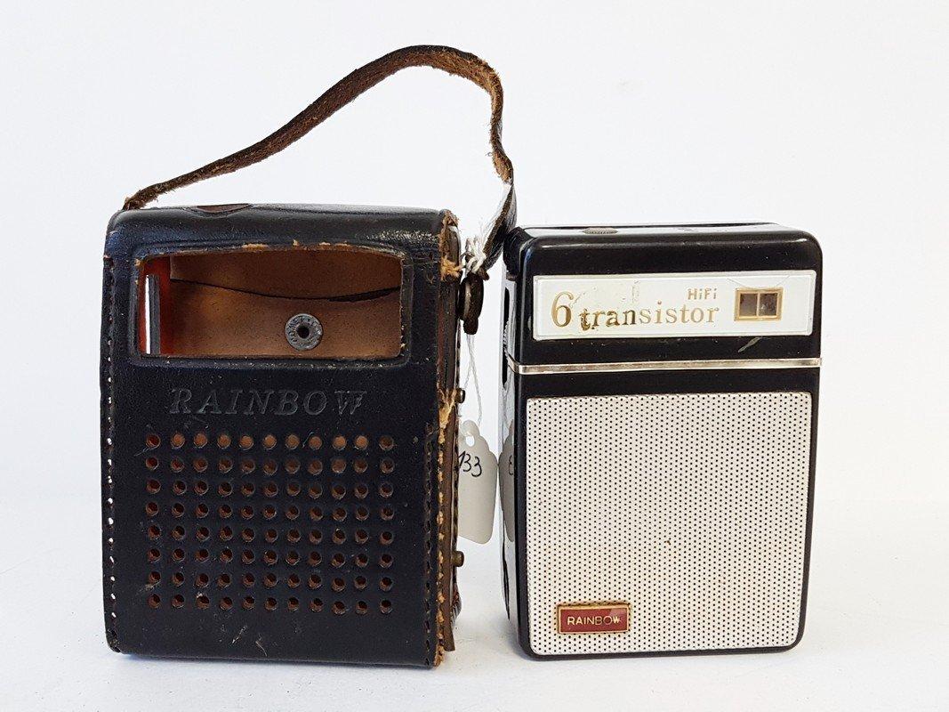 rainbow hi fi 6 transistor radio