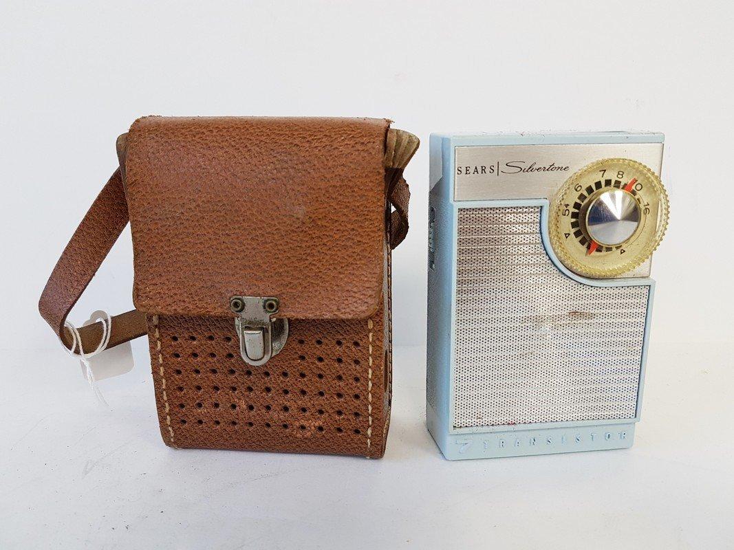 sears silverstone 7 transistor radio
