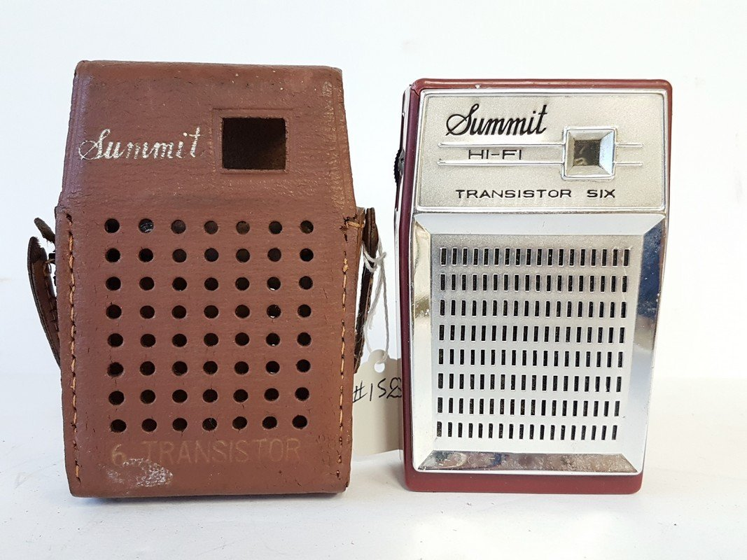 summit hi fi 6 transistor radio