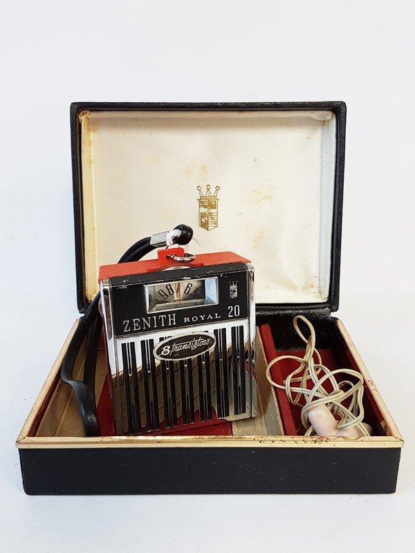 zenith royal 20 8 transistor radio