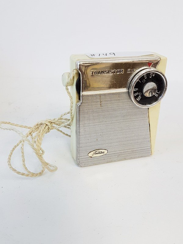 toshiba 6 transistor radio